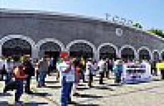 TCDD çalışanları sürgünlere karşı Ankara'ya...
