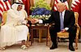 Trump'tan Katar tweeti: Bana Katar yaptı dediler