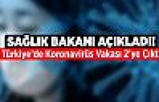 Türkiye'de ikinci korona virüsü vakası