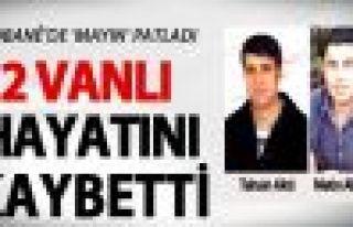 Vanlı DBP'liler Kobani'de mayına bastı: 2 ölü!