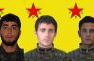 Yaşamını yitiren 3 YPG savaşçısının kimliği...