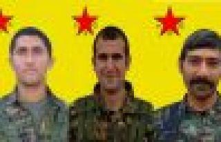 YPG 3 savaşçının kimlik bilgilerini açıkladı