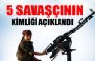 YPG 5 savaşçının kimliğini açıkladı
