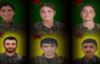 YPG 6 savaşçının kimliğini açıkladı