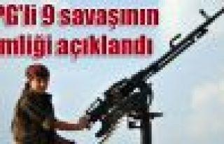 YPG'li 9 savaşının kimliği açıklandı