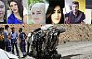Yüksekova'daki kazada hayatını kaybedenlerin aile...