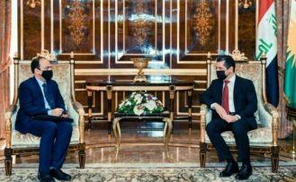 Osman Baydemir ile Mesrur Barzani bir araya geldi