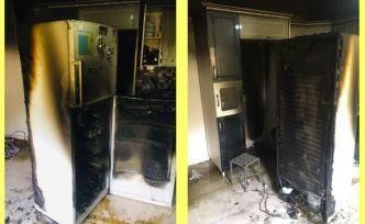 Şemdinli'de bir evde çıkan yangın maddi hasara neden oldu