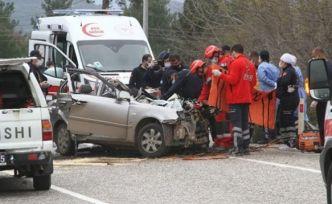 Fethiye'de korkunç kaza: 5 ölü