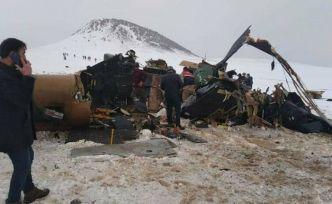 Milli Savunma Bakanlığı: Helikopter kaza kırımına uğradı, 11 şehit var