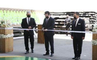 MED STEEL Demir Fabrikası Mesrur Barzani'nin katılımıyla açılışı gerçekleştirildi