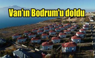 Van'ın Bodrum'u doldu