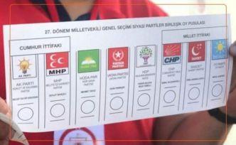 AK Parti+MHP yüzde 35,8; CHP+İYİ Parti+SAADET 39,8