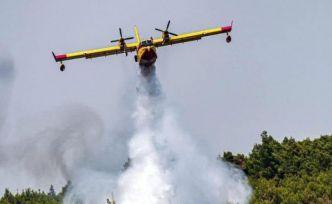Kahramanmaraş'ta yangın söndürme uçağı düştü: 8 ölü