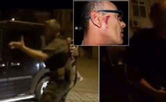 Özel harekatçılar gazetecilere saldırdı