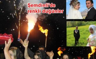 Şemdinli'de renkli düğünler