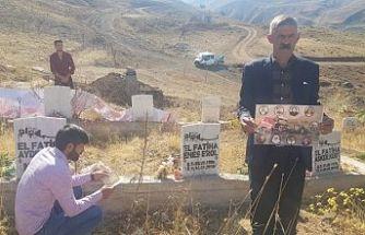 Geçitli patlamasında ölen 9 kişi mezarları başında anıldı