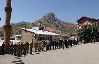 Şemdinli'de Gaziler Günü törenle kutlandı