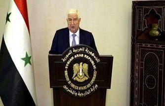 Suriye Dışişleri Bakanı Velid Muallim'den Türkiye'ye 'terör' suçlaması