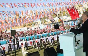 Erdoğan: Türkiye'nin 80 vilayetinde ne varsa Şırnak'ta da mevcut