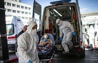 Salgında son 24 saat: 4542 yeni hasta, 123 vefat