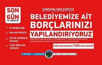 Şemdinli Belediyesinden vergi borcu yapılandırma çağrısı