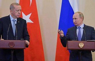 Cumhurbaşkanı Erdoğan ve Putin, Dağlık Karabağ'ı görüştü