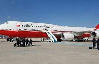 Cumhurbaşkanı'nın uçak sayısı açıklandı