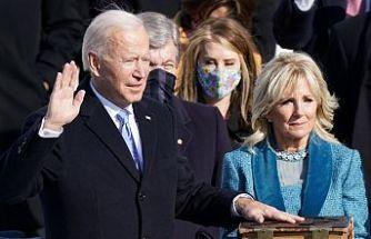 Joe Biden ABD'nin 46'ncı Başkanı olarak göreve başladı!