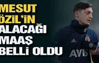 Mesut Özil'in Fenerbahçe'den alacağı maaş ve imza tarihi belli oldu