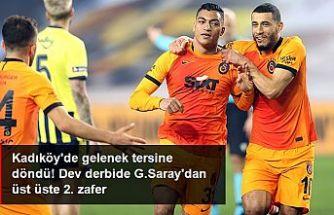 Kadıköy'deki dev derbide kazanan, Galatasaray oldu