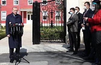 Kısıtlamalar gevşetilecek mi? Cumhurbaşkanı Erdoğan pazartesiyi işaret etti