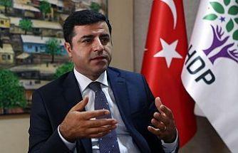 Demirtaş: Aslında PKK ve Öcalan ile görüşme yapan biz değiliz, Erdoğan