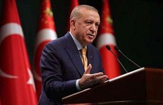 Erdoğan: Yabancılar yollarımıza, köprülerimize, gıptayla bakıyor