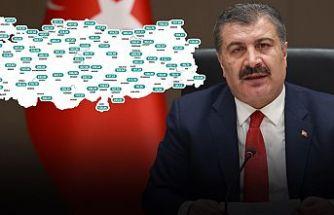 Bakan Koca, haftalık vaka sayılarını açıkladı