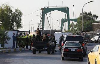 Haşdi Şabi Bağdat'ta Yeşil Bölge'ye baskın düzenledi