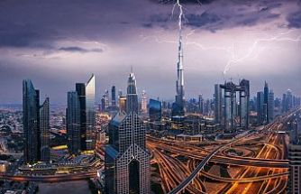 Dubai'de yapay yağmur üretildi, drone ile sağanak yağdırıldı
