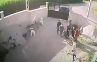 Katliamın kamera görüntüleri: Poşetten çıkardığı silahla ateş açtı