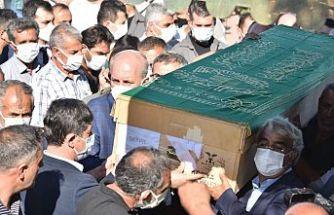Konya'da katledilen 7 kişi defnedildi
