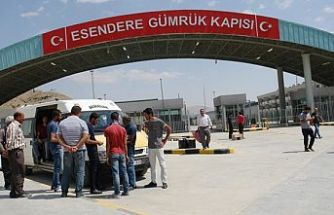 Esendere Sınır Kapısı yolcu geçişine açıldı