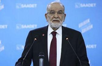 Saadet Lideri Karamollaoğlu: Demirtaş serbest bırakılmalı