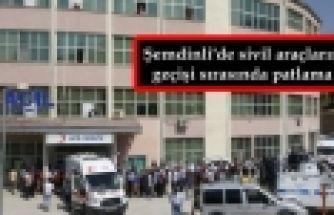 Şemdinli'de patlama: İlhami Çelik hayatını kaybetti