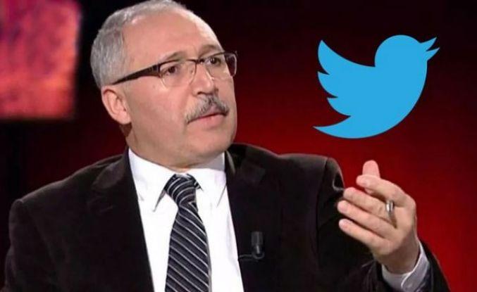 Twitter, Abdulkadir Selvi'nin hesabını askıya aldı