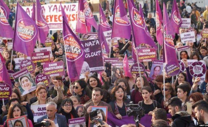 'Kadınlar 2020'de dünyanın dört bir yanında hakları için mücadele etti'
