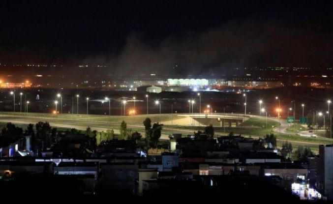 Erbil'de roket saldırısı