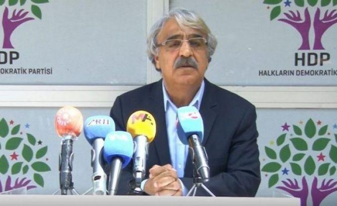 HDP Eş Genel Başkanı Sancar: Bölünme ve yeni parti gibi bir gündemimiz yok