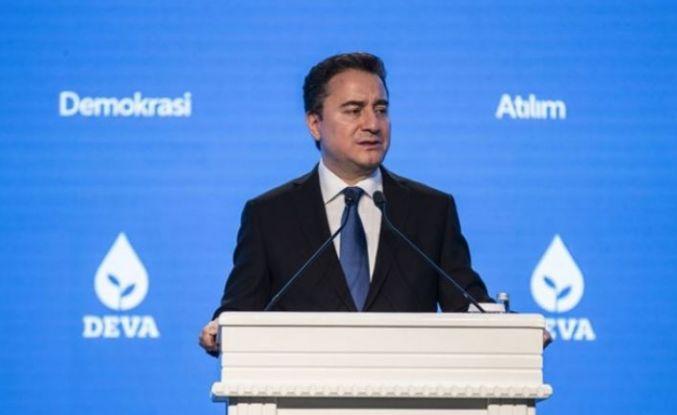 Ali Babacan'dan 'Andımız' açıklaması: Bant geriye sarılıyor