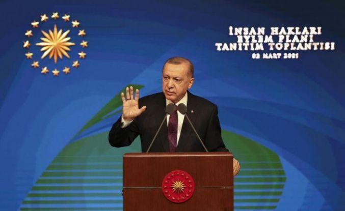 Erdoğan İnsan Hakları Eylem Planını açıkladı: 9 amaç, 50 hedef