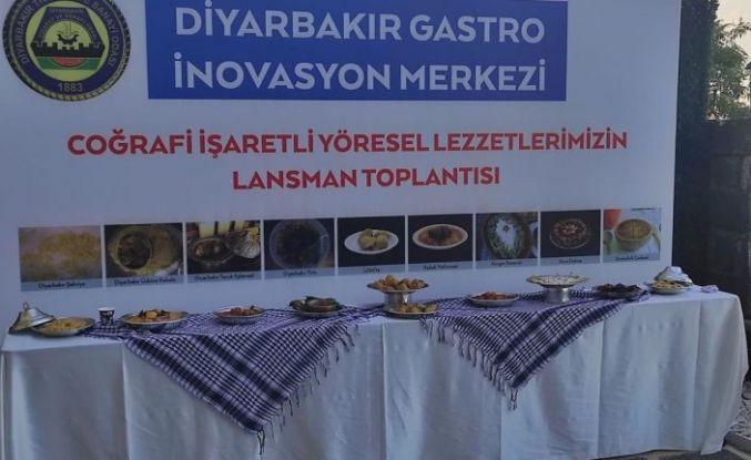 Diyarbakır'ın coğrafi işaretli 9 yemeği tanıtıldı