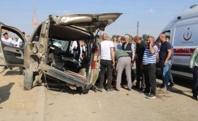 Yüksekova'da kaza: 9 yaralı
